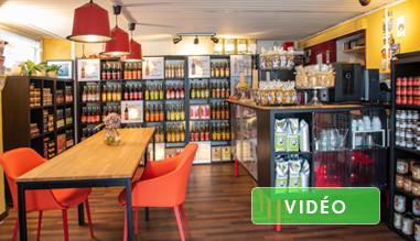 Boutique Bar à Café Baïlo Gingembre
